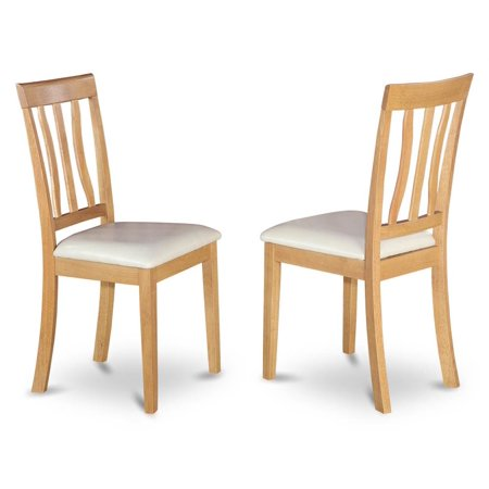 Upholstered Antique Dining Chair - Set of 2