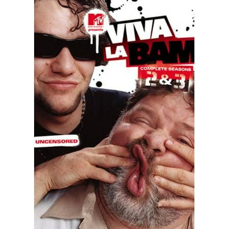 Viva La Bam: Complete Seasons 2 & 3 (DVD)](Bam Bam Off The Flintstones)