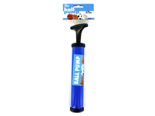 Hand Air Pump with Needle Ball Balloon Sport Soccer by