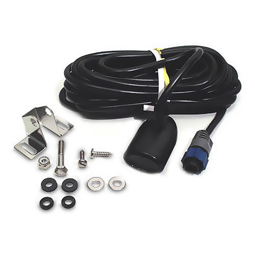 Lowrance Transom-Mount Skimmer with Built-In Temperature Sensor