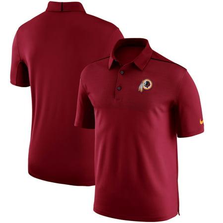 Washington Redskins Nike Sideline Elite Coaches Team Color Performance Polo - (Nike Hoops Elite Max Air Team 2-0 Inside)