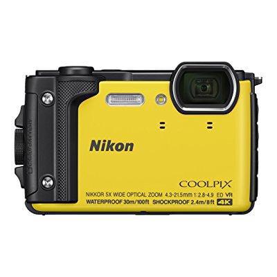 nikon w300 waterproof underwater digital camera with tft lcd, 3, yellow (Best Underwater Camera Reviews)