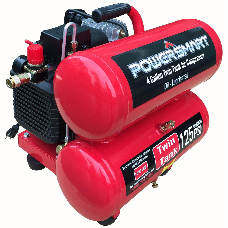 PS60 4 Gallon Electric Air Compressor by Amerisun Inc.