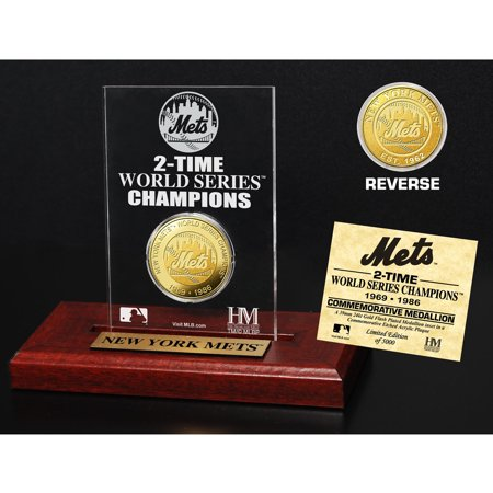 New York Mets Highland Mint World Series Champions Collectible Coin - No Size