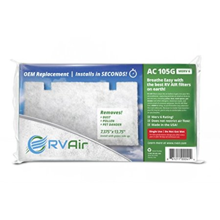 RVAir AC-105G Filter Replacement 14