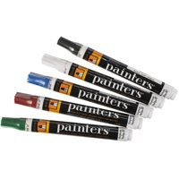 Painters Opaque Brights Medium Point Paint Markers, 5 Count