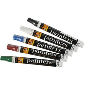 Painters Opaque Fine Tip Paint Markers 5 Piece