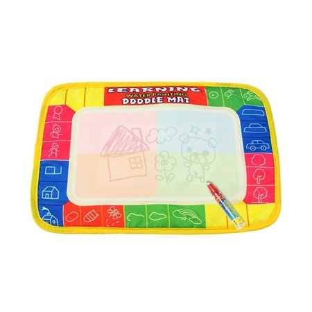 Magic Water Drawing Mat, Upgrade Doodle Mat, Aqua Painting Board Writing Mats Magic Pen & Big Molds, Best Educational Toys Gifts Boys Girls Age 2 3 4 5+ Year Kids/Toddlers