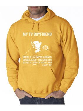 Allwitty 1097 - Hoodie My Tv Boyfriend Supernatural Sweatshirt