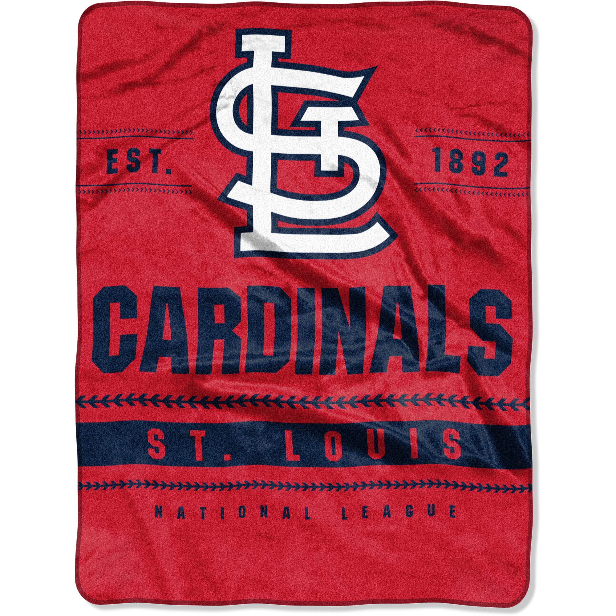 "St. Louis Cardinals The Northwest Company 60"" x 80"" Backstop Silk Touch Throw Blanket - No Size"