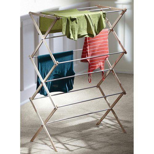 HOMZ Wooden Drying Rack