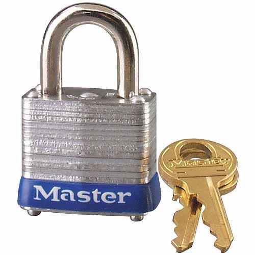 """Master Lock 7KA P307 1-1 8"""" No. 7 Laminated Padlock by Master Lock"""