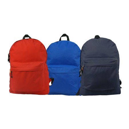 e06cfc603c4 Wholesale Classic Backpack 18 inch Basic Bookbag Padded Back Bulk Cheap  Simple Schoolbag Promotional Backpacks Low Price Non Profit Giveaway  Student ...