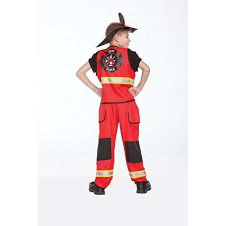 Halloween Wholesalers Firefighter Children'sFancy Dress - Halloween Wholesalers