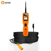 KZYEE KM10 Power Circuit Probe Kit, Diagnostic Circuit Tester with Auto Electrical System Testing (Digital Voltage Tester, Multimeter, Short Finder, Battery Tester, Power or Ground Supply)