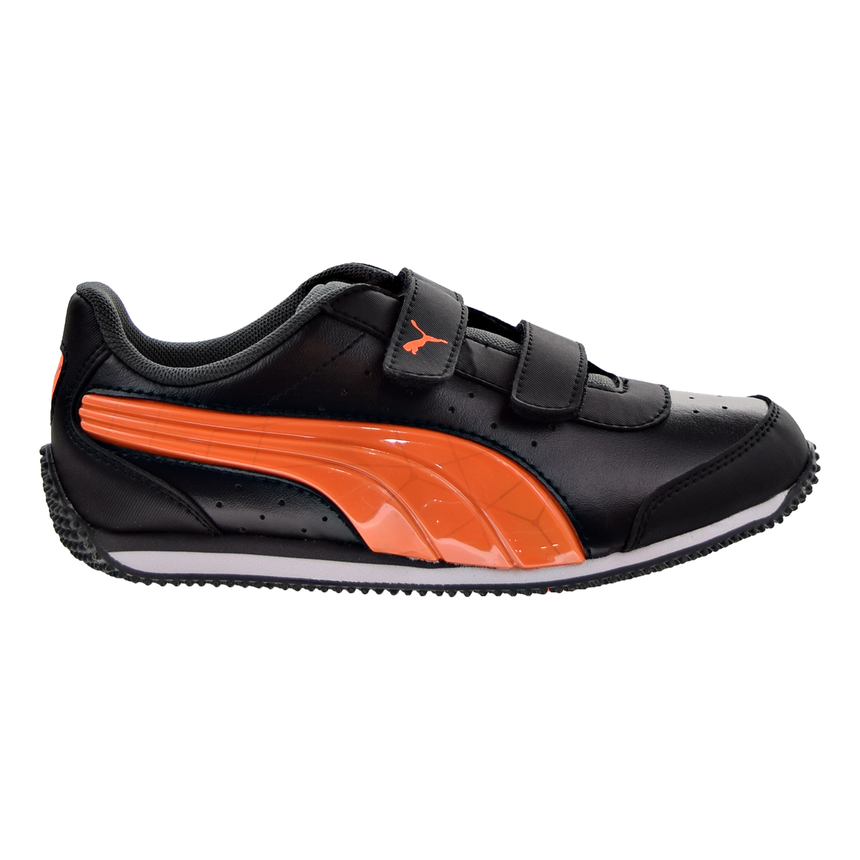 PUMA Puma Speed Lightup Power V Little Kids Shoes Puma BlackShocking Orange 362694 05