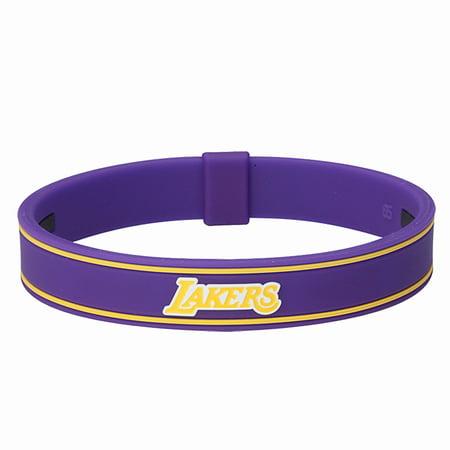 5dd7d28fc787 Phiten Titanium Bracelet S-Type NBA LA Lakers-7 1 2