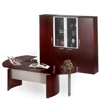 Mayline Shape Desk Office Suite