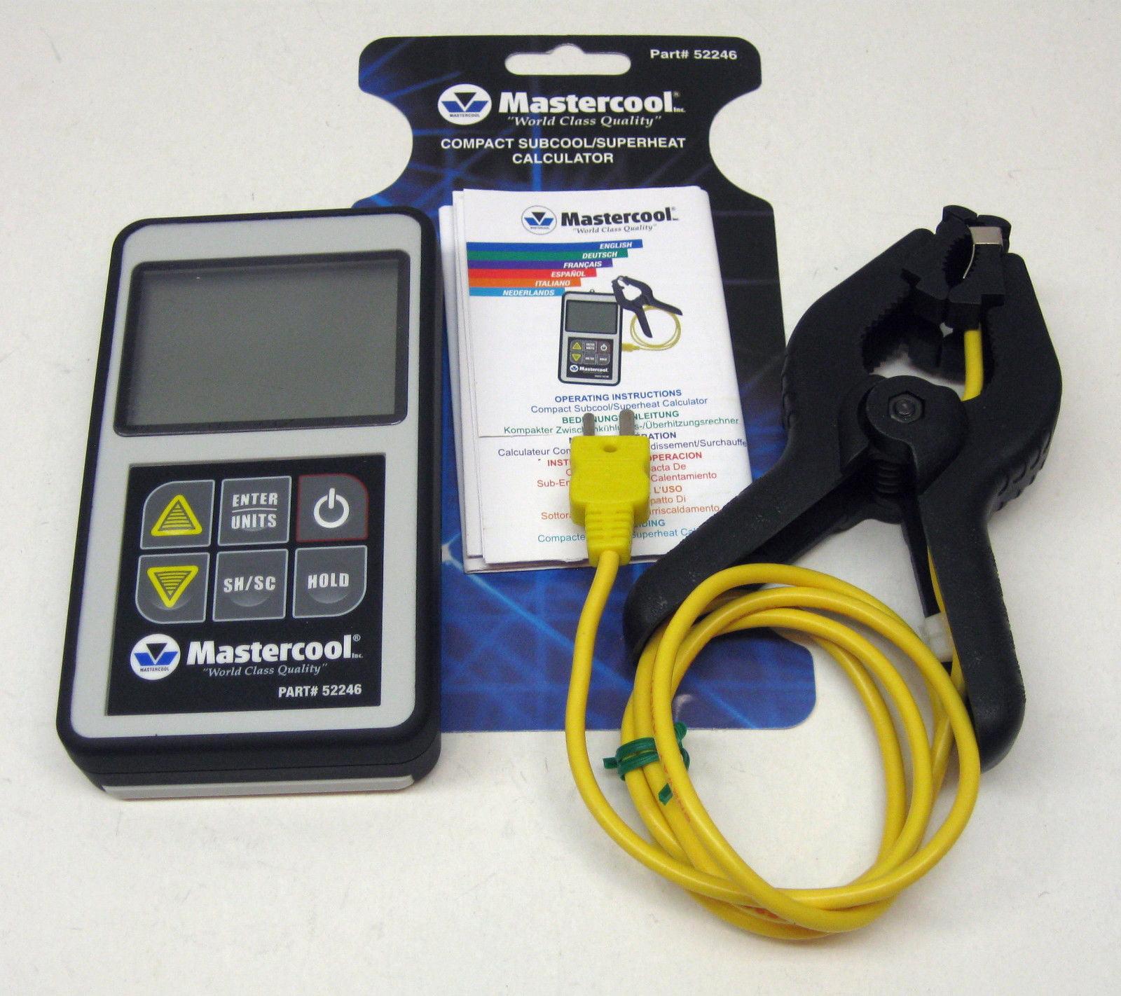 52246 Mastercool Superheat Subcool Calculator Digital A C HVAC Refrigeration by Mastercool