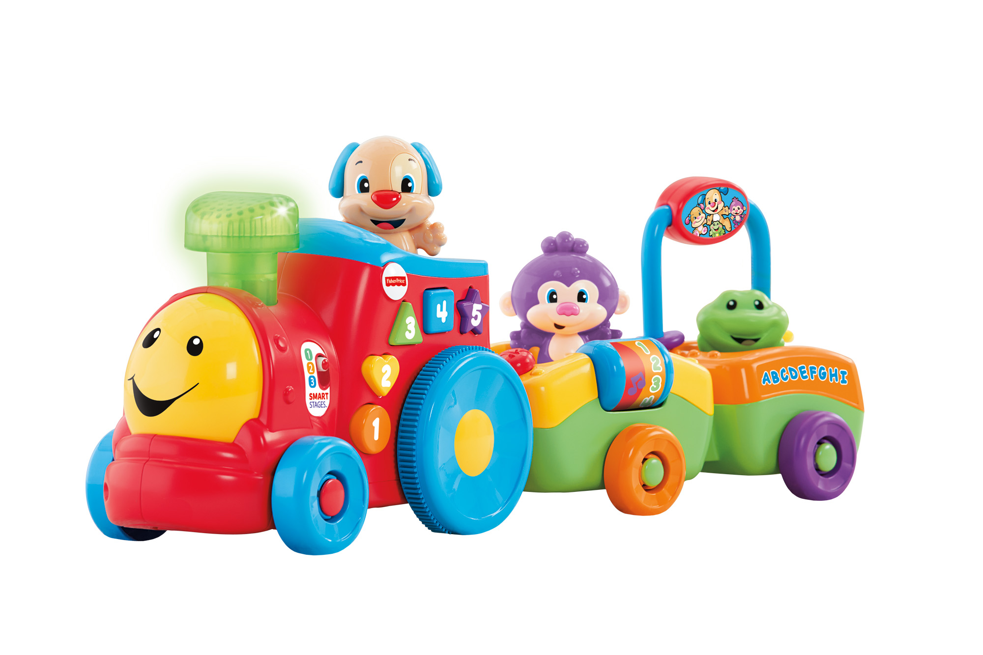 Fisher Price Laugh & Learn Puppy's Smart Stages Train by Fisher-Price