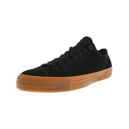 9a70338e56bd Converse Chuck Taylor All Star Pro Ox Black   Ankle-High Leather Fashion  Sneaker ...
