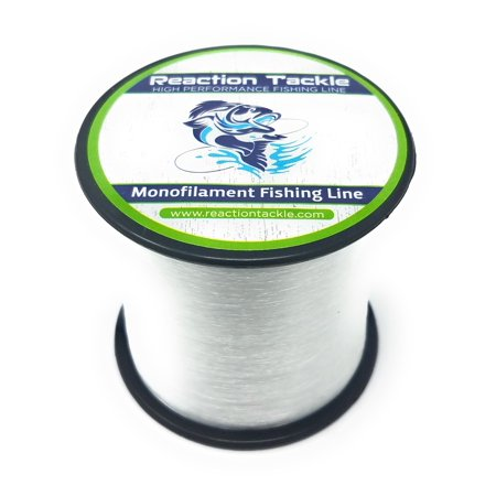 Reaction Tackle Mono Clear 4LB (Best 4 Pound Test Line)