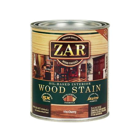 Staining Cherry Wood - ZAR 11612 Wood Stain, Cherry