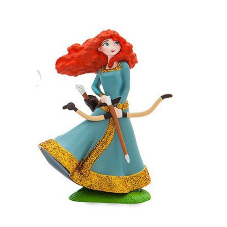 (Disney Princess Brave Merida with Bow PVC Figure [Glitter] [No Packaging])