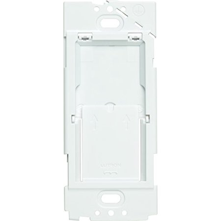 Lutron PICO-WBX-ADAPT Pico Wireless Control Wall box Bracket Faceplate Adapter White