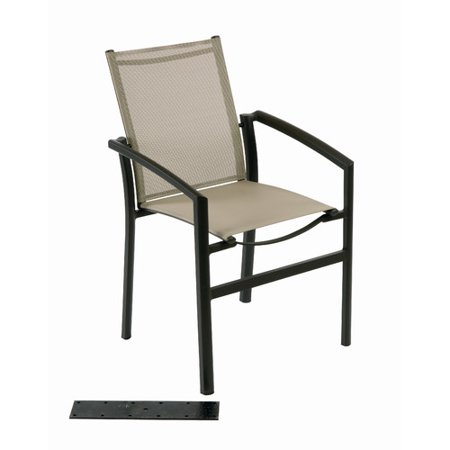 Les Jardins Out Of Blue Ozalide Stacking Patio Dining Chair - Walmart.com - Les Jardins Out Of Blue Ozalide Stacking Patio Dining Chair