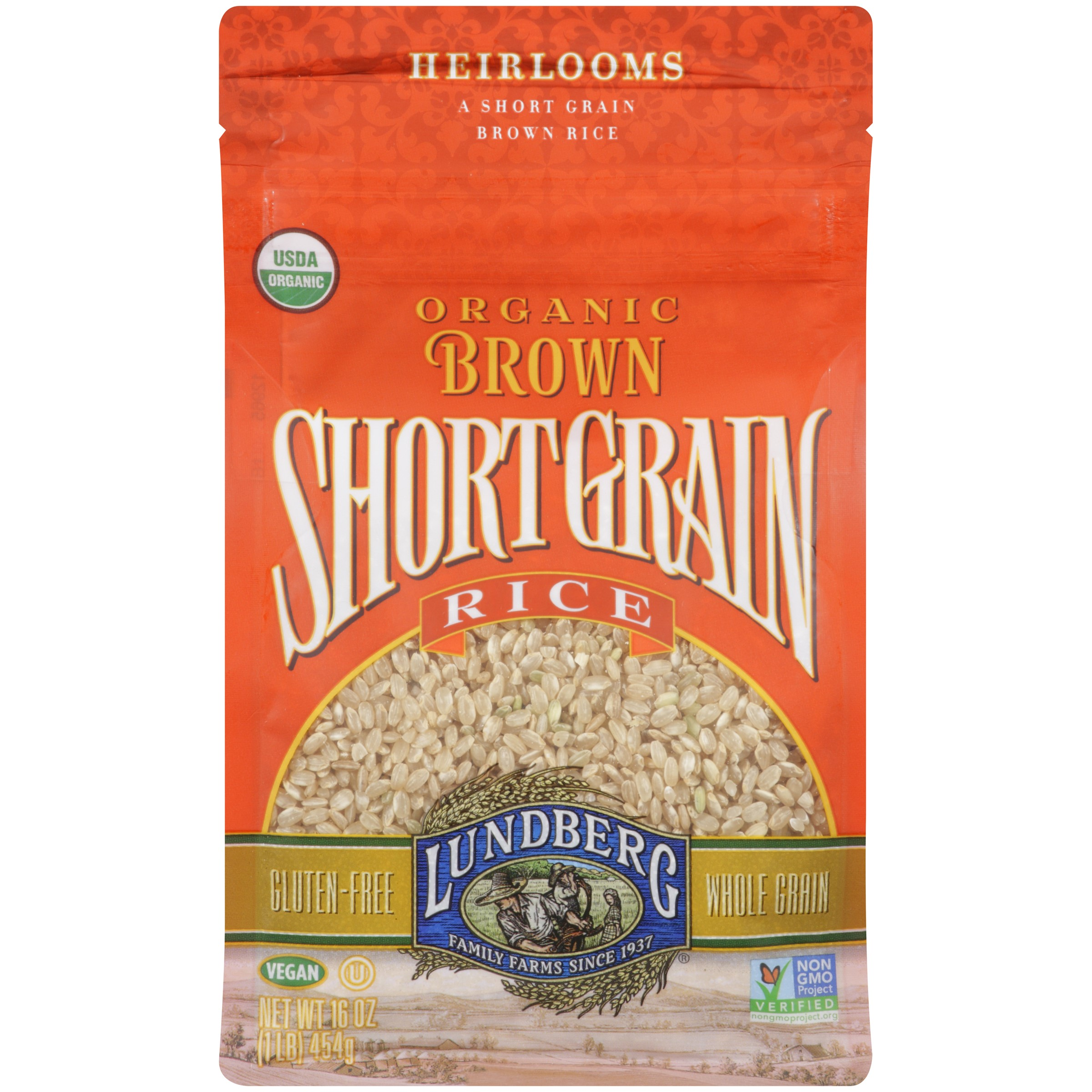 Lundberg Organic Short Grain Brown Rice 16 oz