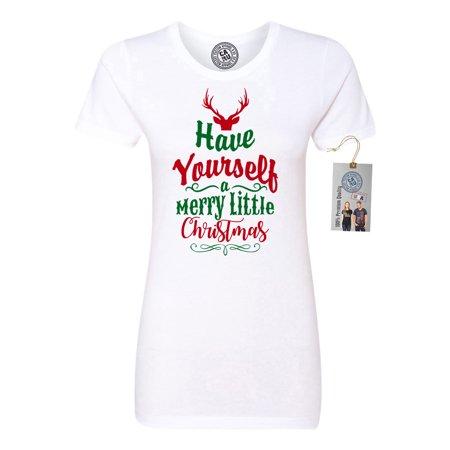 have yourself merry little christmas women short sleeve t shirt custom magnet walmartcom