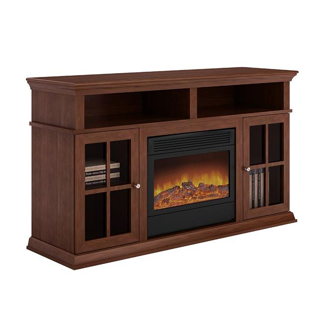 Argo L17S16 Electric Fireplace - Brown