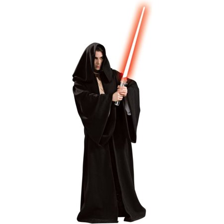 Morris costumes RU16223 Sith Robe Hooded Adult Dlx - Sith Robes For Sale