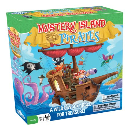 Outset Media Mystery Island Pirates Game - A Wild & Wacky Race For Treasure!](Pirate Treasure Map Game)