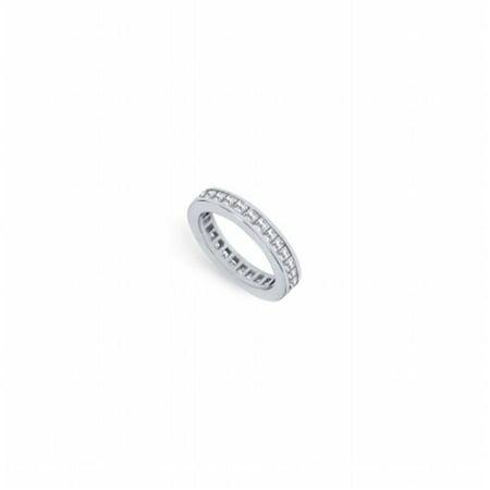 Fine Jewelry Vault UBPTSQ150D160-2RS6 1.5 CT Platinum Diamond Eternity Band First & Second Wedding Anniversary Ring - Size