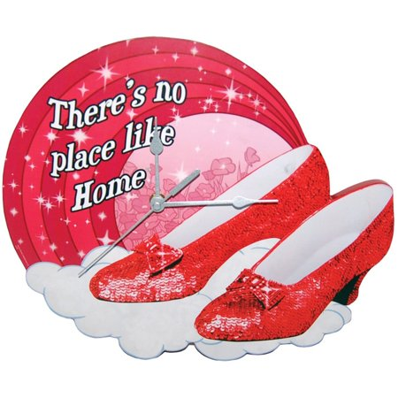 Wizard of Oz Ruby Slippers 11.25 Wall Clock