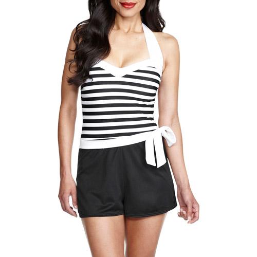 Catalina Suddenly Slim Women's Retro Shortini Swimsuit