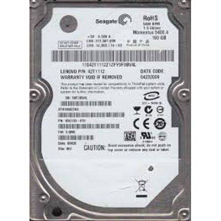 160GB SATA Seagate 5400RPM 8MB 2.5in Oem ST9160827AS Internal Hard Drive