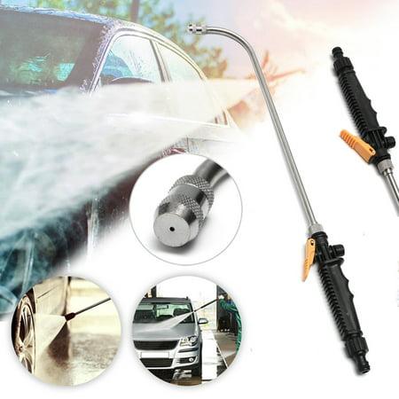 23'' High Pressure Power Washer Spray Nozzle Water Gun Hose Wand Garden Sprayer - Power Sprayer Attachment