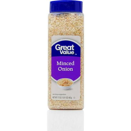 Great Value Minced Onion Seasoning  17 Oz
