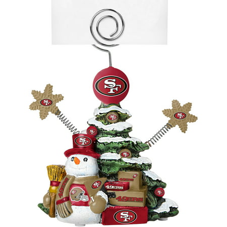 - Topperscot by Boelter Brands NFL Tree Photo Holder, San Francisco 49ers