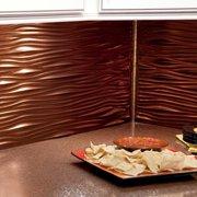 Fasade  Waves Oil Rubbed Bronze 18-square Foot Backsplash Kit