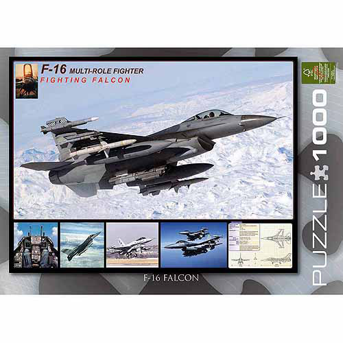 EuroGraphics F-16 Fighting Falcon 1000-Piece Puzzle by Generic