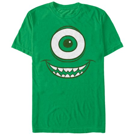 Monsters Inc Men's Mike Wazowski Eye T-Shirt
