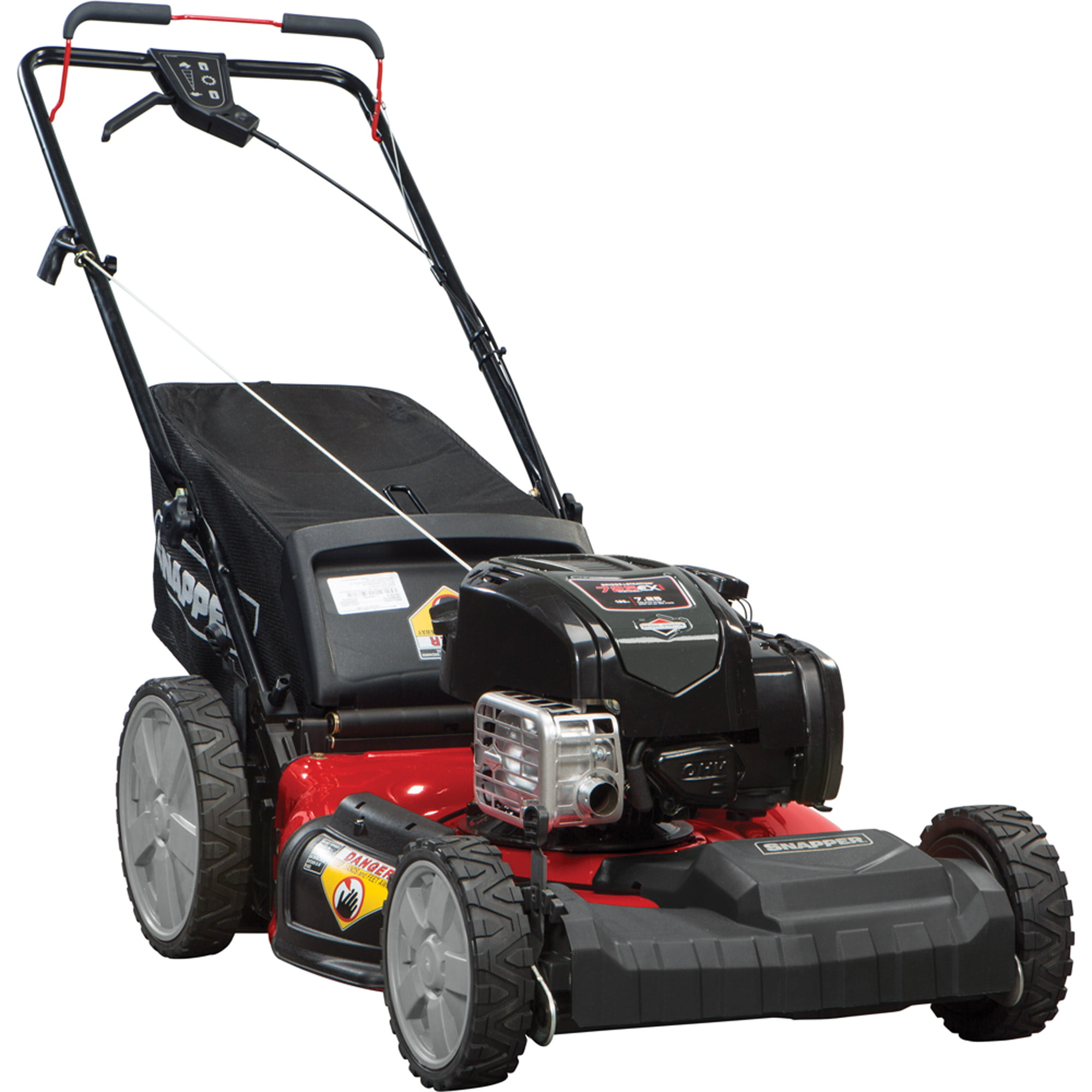 "Snapper 21"" Self Propelled Gas Mower with Side Discharge Mulching"