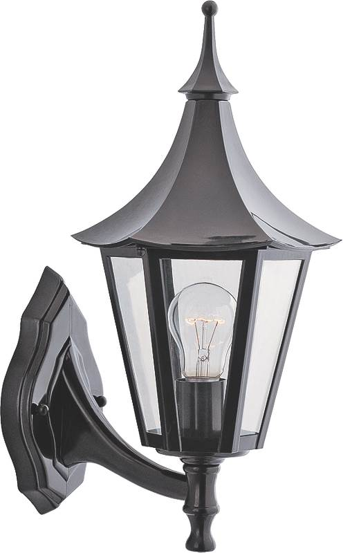 Boston Harbor AL8041-5 Lantern Porch Light Fixture, Medium, 60 W, 1 Lamp by Mintcraft