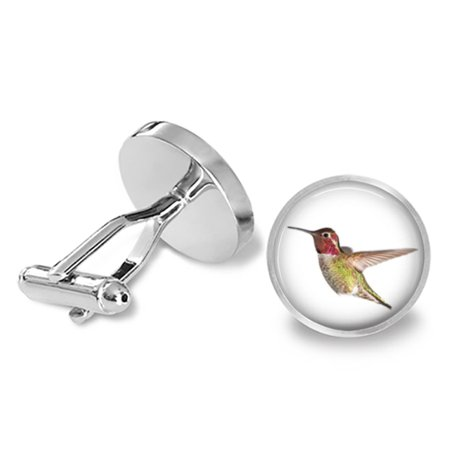 Anna's Hummingbird Cufflinks Bird Cuff Links