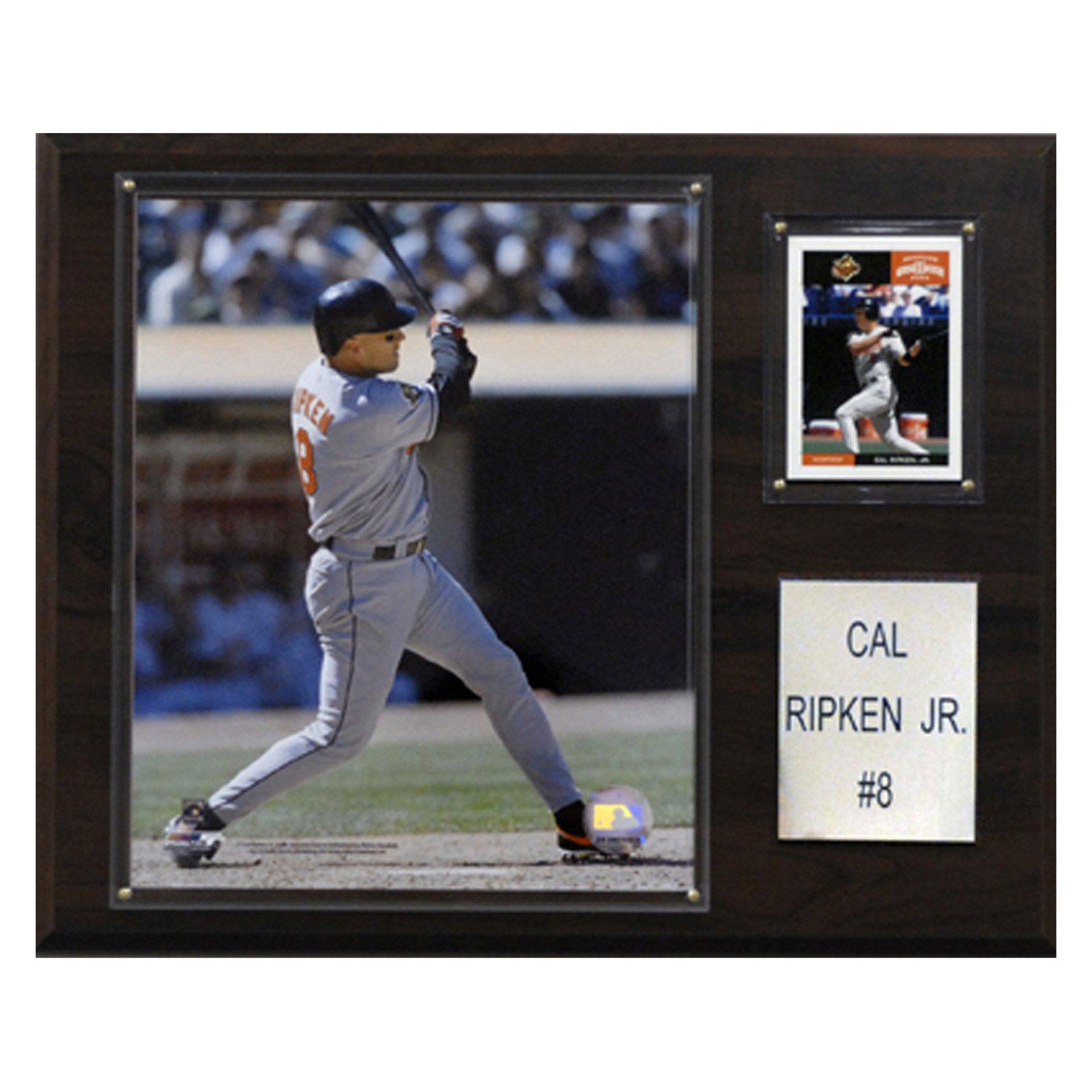 C&I Collectables MLB 12x15 Cal Ripken Jr. Baltimore Orioles Player Plaque
