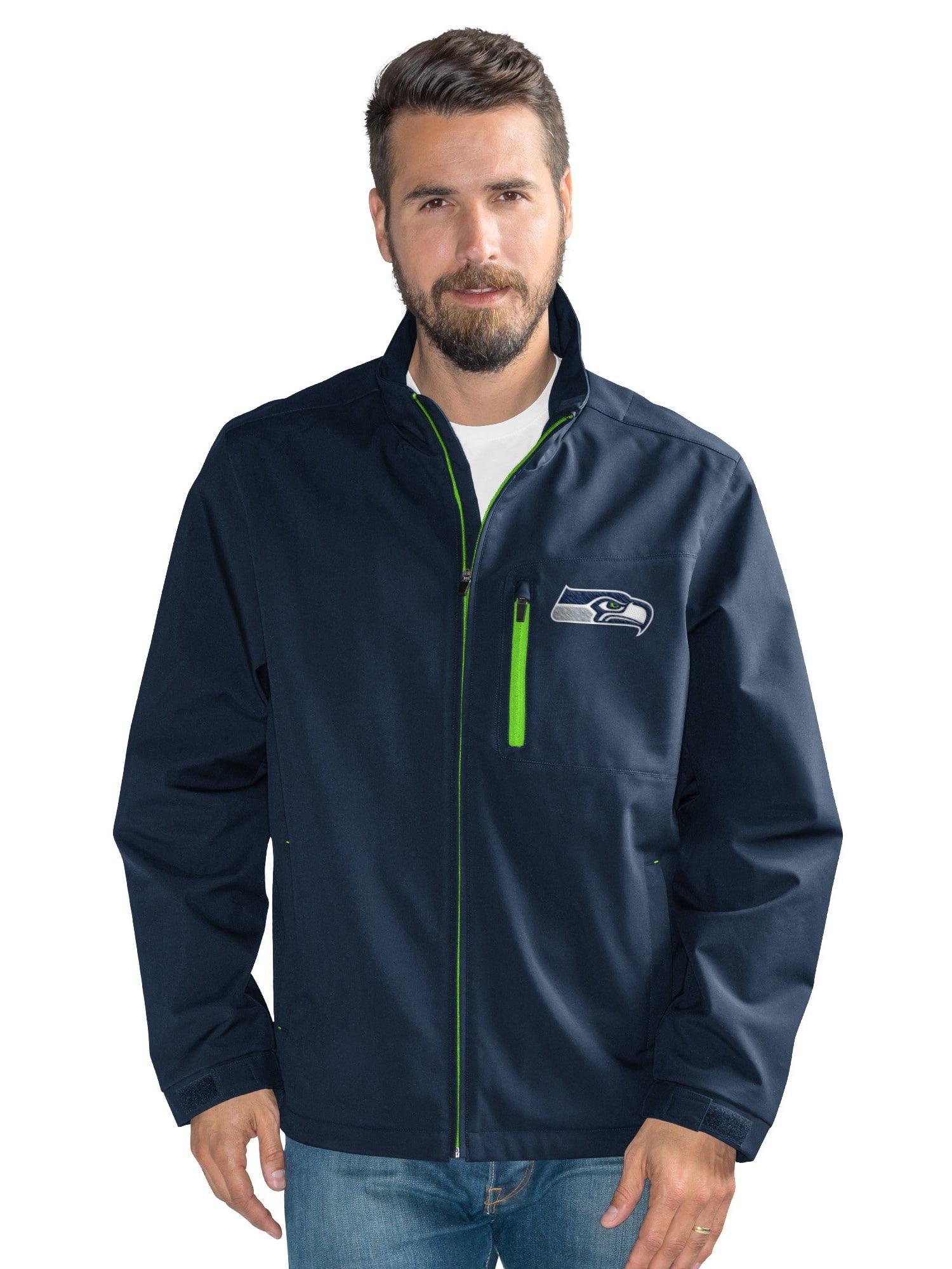 Seattle Seahawks Men's Defender Soft Shell Full Zip Jacket by G-III Sports